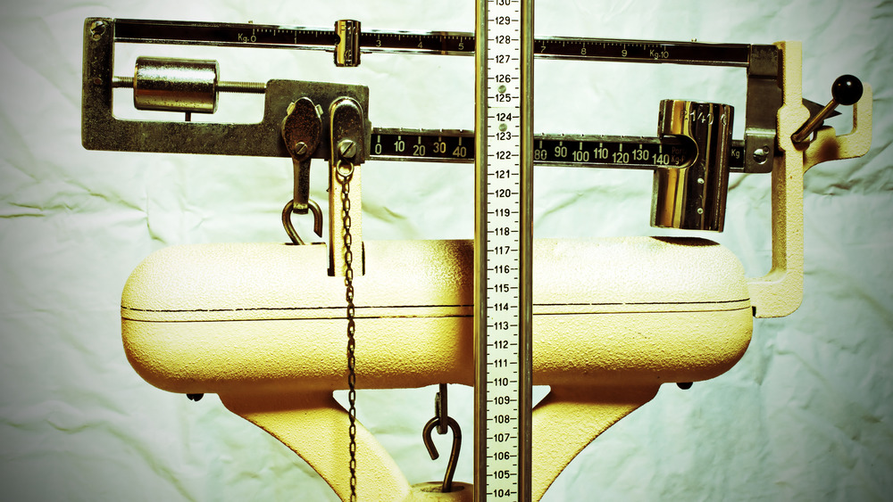 height and weight scale