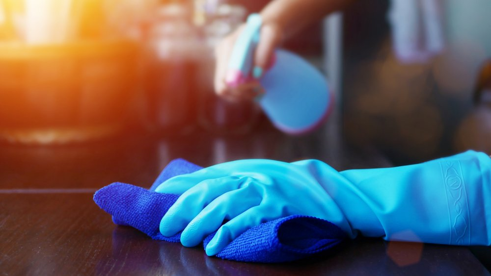 The real difference between sanitizing and disinfecting