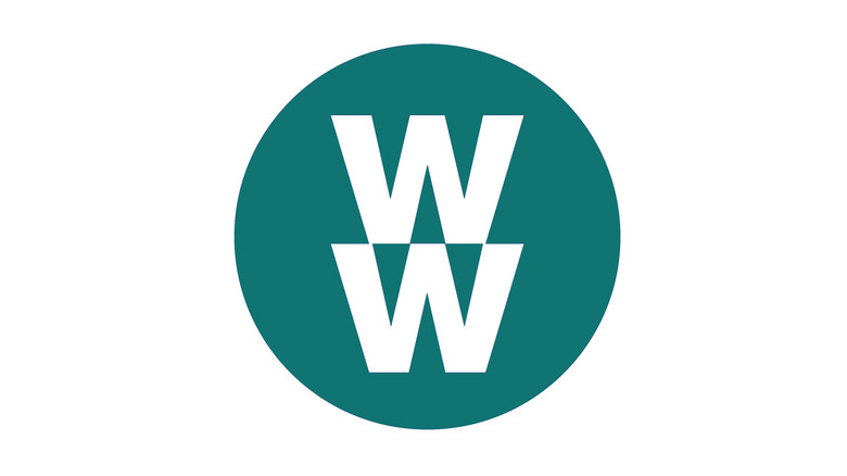 The Weight Watchers logo in the same shade as their green plan documentation