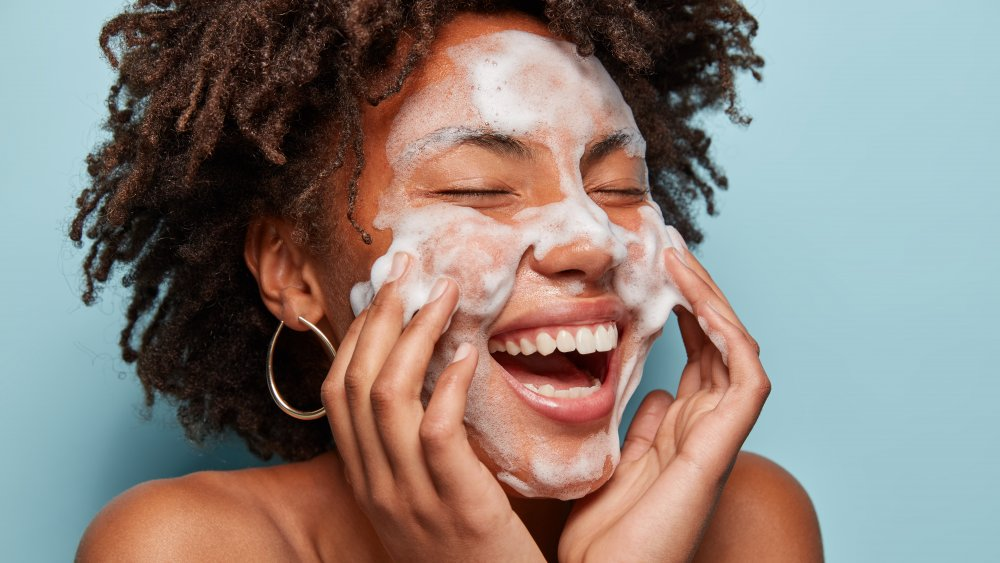 This is how often a dermatologist says you need to wash your face